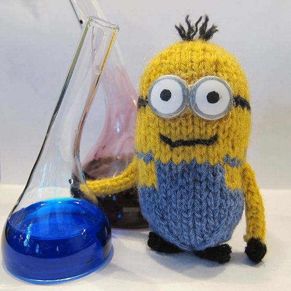 Free Knitting Patterns Baby Hat : Just Crafty Enough   Free Pattern   Minion