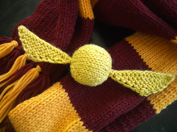 Just Crafty Enough Free Pattern The Golden Snitch