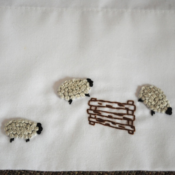 Just crafty enough how to embroider french knot sheep