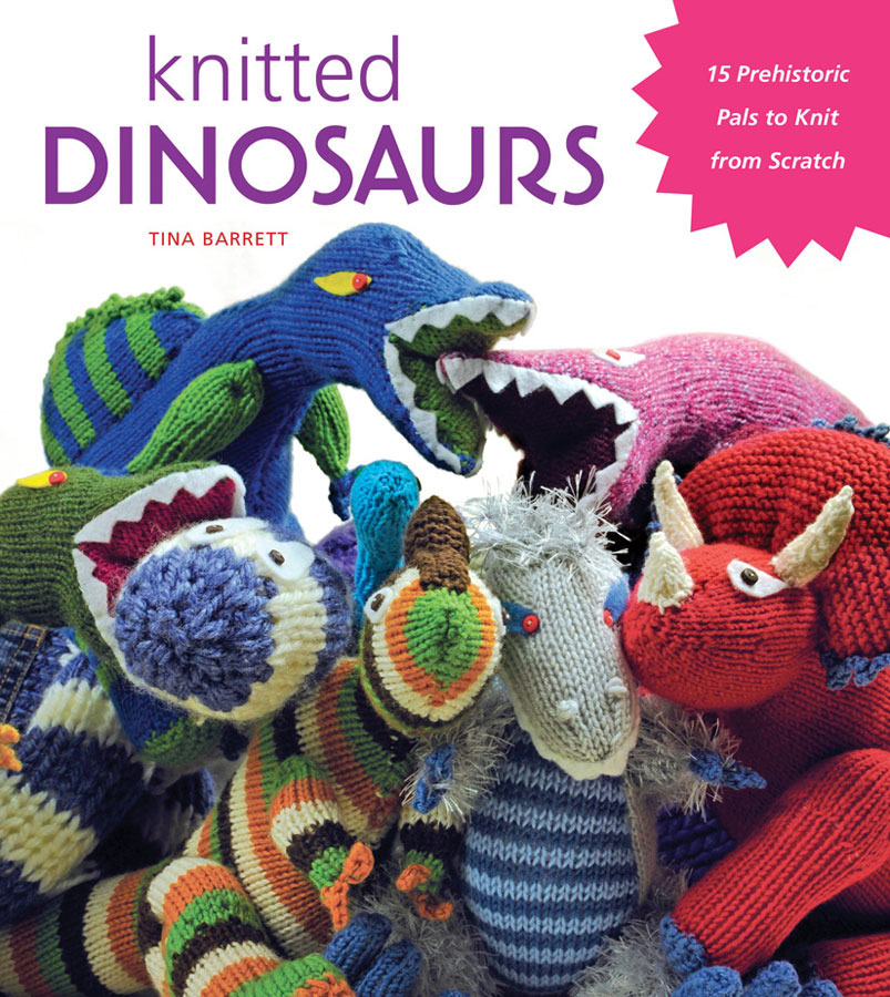 Knit Dinosaur Pattern : Just Crafty Enough   Knitted Dinosaurs Giveaway