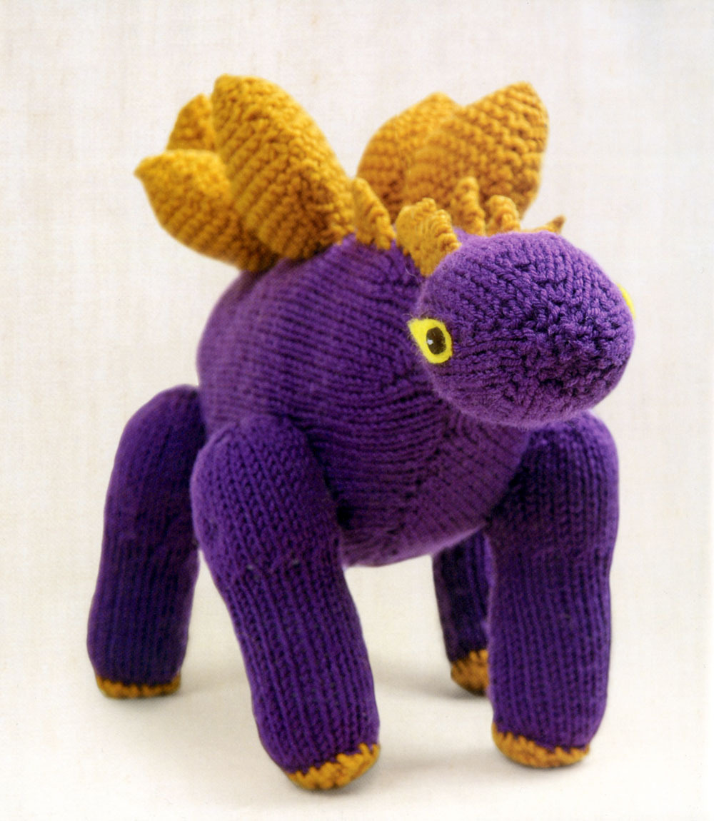 Knit Dinosaur Pattern : Just Crafty Enough   Project   Stegosaurus Knitted Dinosaur
