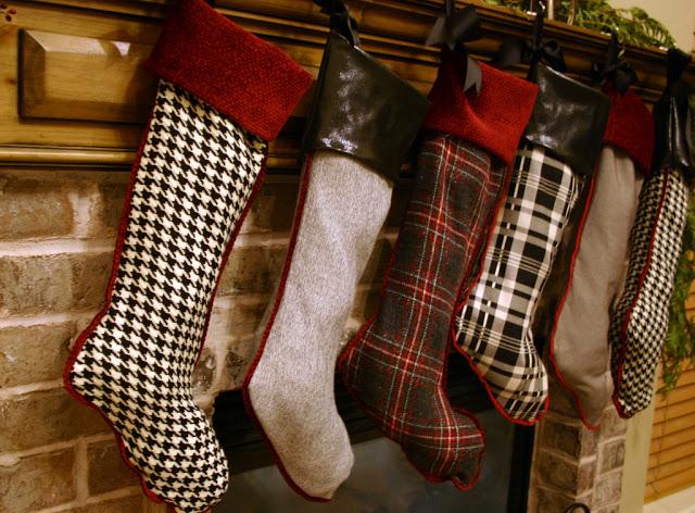 Just Crafty Enough Handmade Christmas Stocking Inspirations