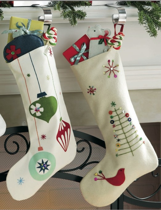 Just Crafty Enough Handmade Christmas Stocking Inspirations