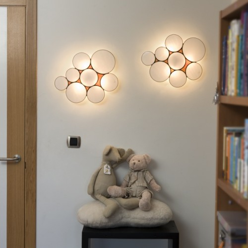 Just Crafty Enough u2013 DIY Inspiration u2013 Wall Light Installations