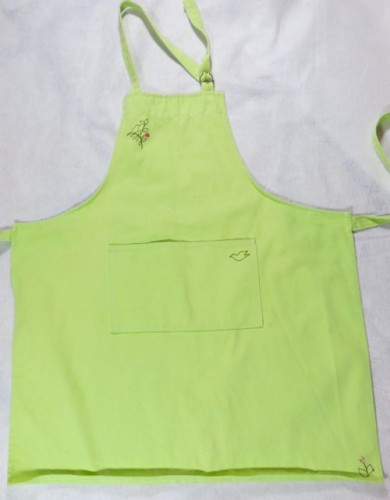 lime apron