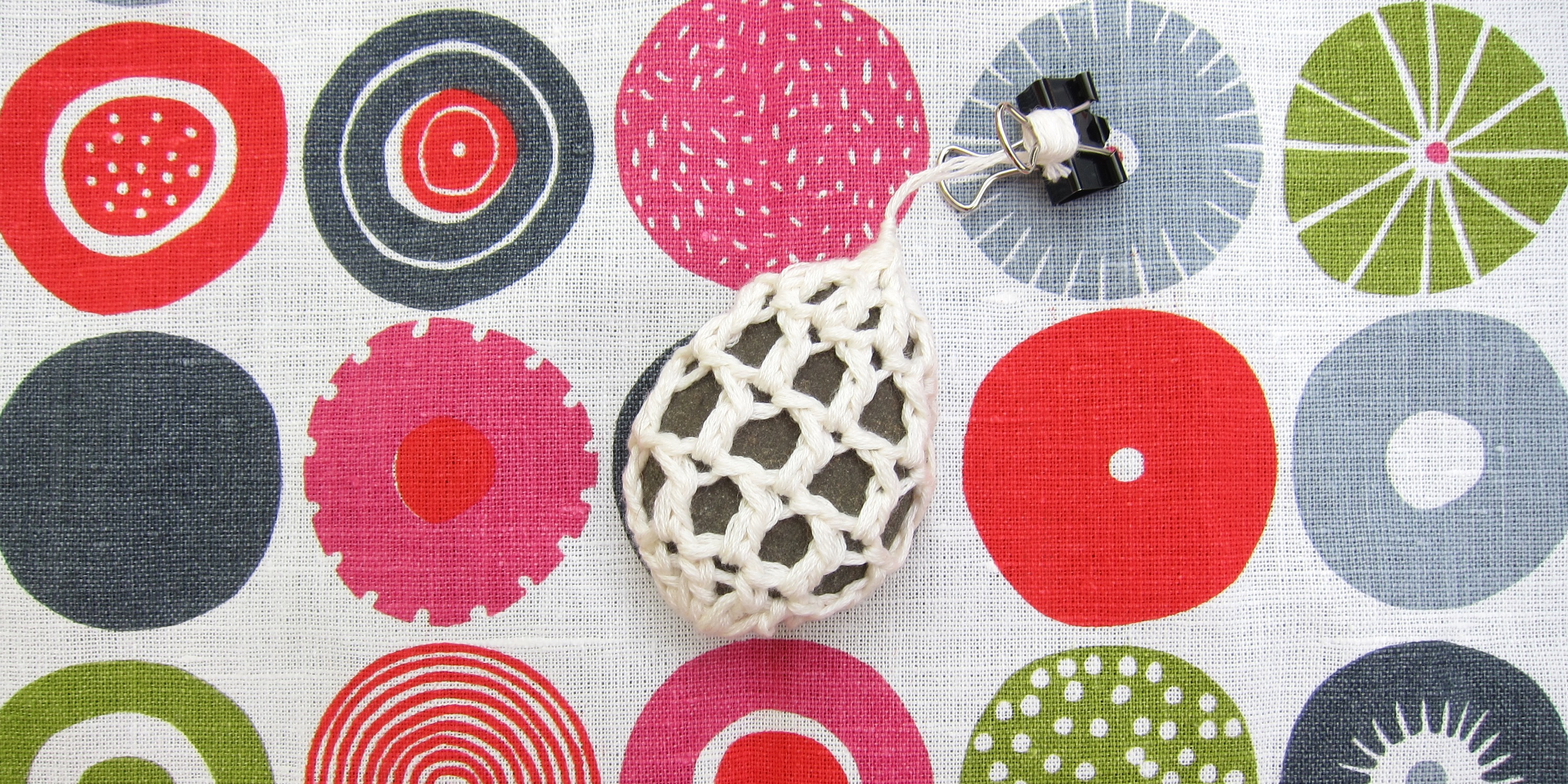 Just Crafty Enough – Iron Craft \'13 #12 – Crocheted Stone Tablecloth ...
