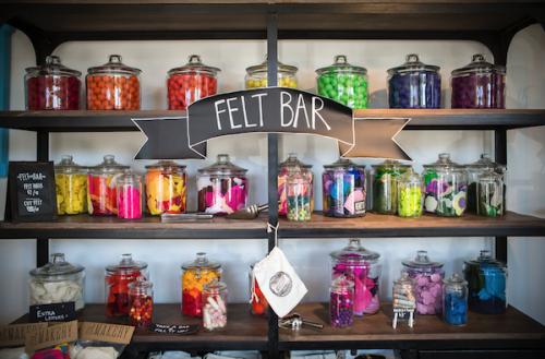 makery felt bar