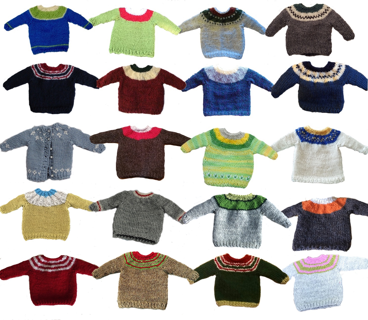 Just Crafty Enough – Cutest little wee sweaters